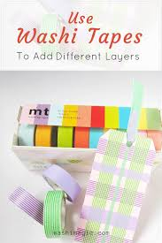 awesome gallery for washi tape arts and crafts projects