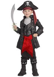 kid u0027s captain black pirate costume boys halloween costumes