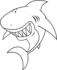 coloring pages shark coloring pages printable shark coloring