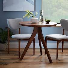 2 Seater Dining Tables Buy West Elm Tripod Round 2 Seater Dining Table John Lewis