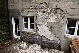 Bedroom Wall Wet Damp Problems Caused By Cement Render Trapping Water Into Walls