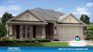 Lennar Homes Floor Plans by The Radford Ii Home Tour Lennar Houston Youtube