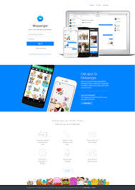 free messenger website clone multipage psd download metakave