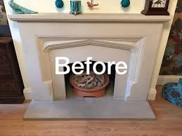 cleaning a stone fireplace how to clean stone fireplace creative home decoration and
