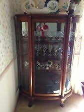 Broyhill China Cabinet Vintage Oak China Hutch Furniture Ebay