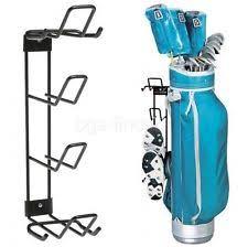 Garage Golf Bag Organizer - golf bag organizer clubs shoes equipment storage accessories rack