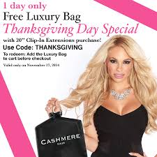 free hair extensions thanksgiving day special free gift with purchase hair