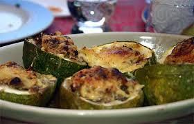 cuisiner courgette ronde recette de courgette ronde farcie façon moussaka