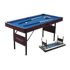 4ft pool table folding bce 5 foot folding pool table lcr amazon co uk toys games