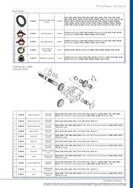 oe new products contents page 19 sparex parts lists u0026 diagrams