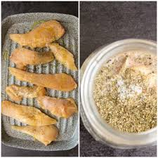 homemade creamy italian dressing with grilled chicken salad an