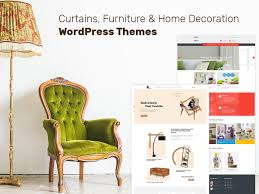 curtains furniture and home decoration wordpress themes for this