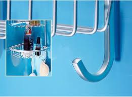 Bathroom Shelf Organizer by Modern Decoration Style Satin Silver Bathroom Shelf Organizer