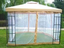 Gazebo Awning 3 X 3m Patio Metal Gazebo Canopy Tent Pavilion Garden Outdoor
