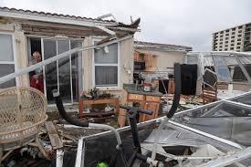 hurricane matthew downgraded after florida still flooding