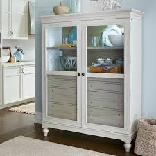 paula deen kitchen furniture paula deen dogwood the bag lady china cabinet hayneedle