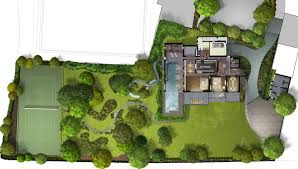 house site plan work starts on shh s water slide house architects journal