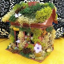 Build A Dream House Homemade Fairy Houses Vial Of Fairy Dust All You Need Is