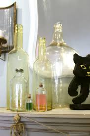 halloween decorations potion bottles classy and tasteful halloween decor simple practical beautiful