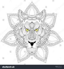 tiger mandala coloring pages part 1 free resource for teaching
