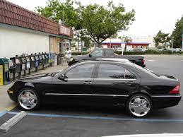 1999 black mercedes mercedes s class w220 1999 2005 6 1 madwhips