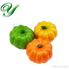 foam pumpkins 2018 artificial fruit vegetables decor plastic foam pumpkins mix