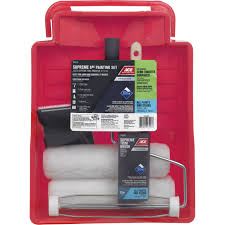 paint roller and tray sets at ace hardware