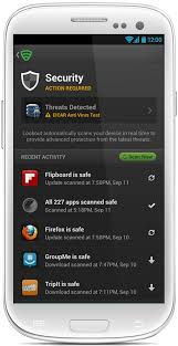 virus scan android android virus scanner removal lookout