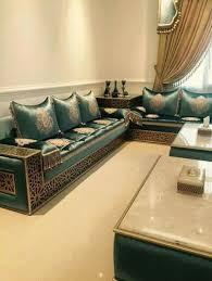 tissu canapé marocain tissu benchrif pour salon marocain 2017 salons marocains