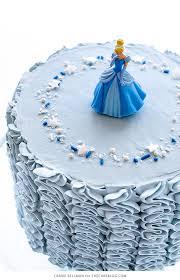 cinderella birthday cake fairytale ruffle cake