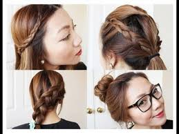 easy hairstyles for layered long hair 101 cute amp easy bun