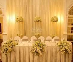 Hall Table Decor Head Table Decor Weddings