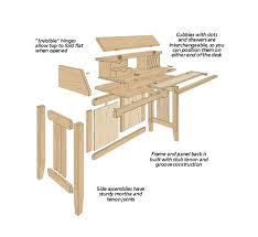 Woodworking Plans Corner Computer Desk by Woodsmith Woodworking Plans Corner