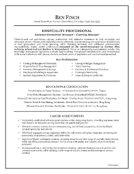 Strategy Resume Hospitality Resume Writing Example Hospitality Resume Writing