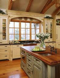 Pictures Of Country Kitchens With White Cabinets Kitchen Design Wood Counter Top Kitchen Cabinets Country