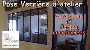 Cuisine Avec Verriere Interieur by Poser Une Verriere D U0027atelier Interieure Et Faire Une Ouverture