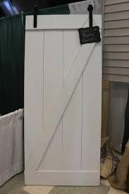 white z pattern barn door shutters by jen