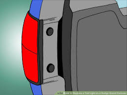 How To Replace Tail Light 3 Ways To Replace A Tail Light On A Dodge Grand Caravan Wikihow