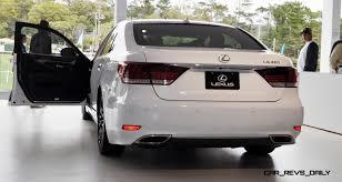 lexus ls 460 f sport 2017 car revs daily com 2015 lexus ls460 f sport crafted line is most