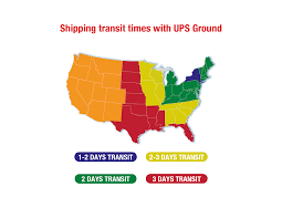 Ups Ground Shipping Map Shipping Information