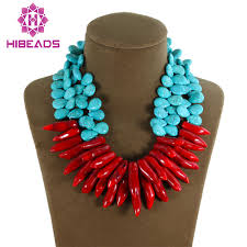 natural turquoise necklace images Latest fashion double rows teardrop 13 15mm stone necklace natural jpg