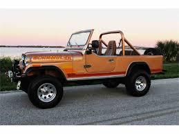 cj8 jeep 1984 jeep cj8 scrambler for sale classiccars com cc 1035763