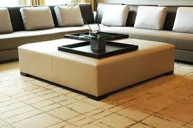 Ottoman Modern Modern Leather Ottoman Interior Home Design Popular Leather