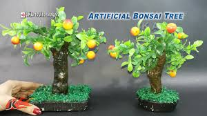 diy artificial bonsai tree tutorial how to make jk arts 923