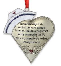shaped ornament with poem silver metal wings