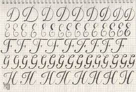 draw letters practice skillshare projects