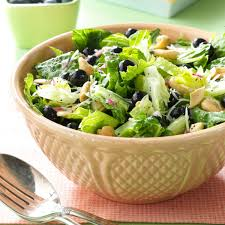 Garden Salad Ideas Blueberry Romaine Salad Recipe Taste Of Home