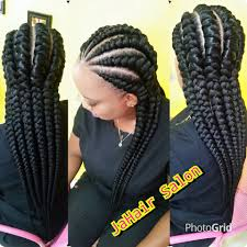 big cornrows would you want to spend this much time on these chunky beautiful