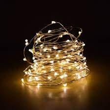 white string lights 100 warm white led micro fairy string lights 33ft ac in