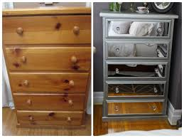 Hayworth Mirrored Chest Silver by Diy Mirrored Chest Of Drawers Using Acrylic Mirrors Living Room